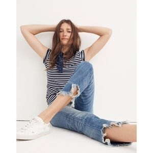 Rivet & Thread Retro Straight Jeans Madewell NWT